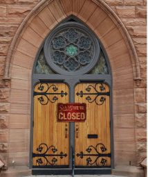 Church Closed